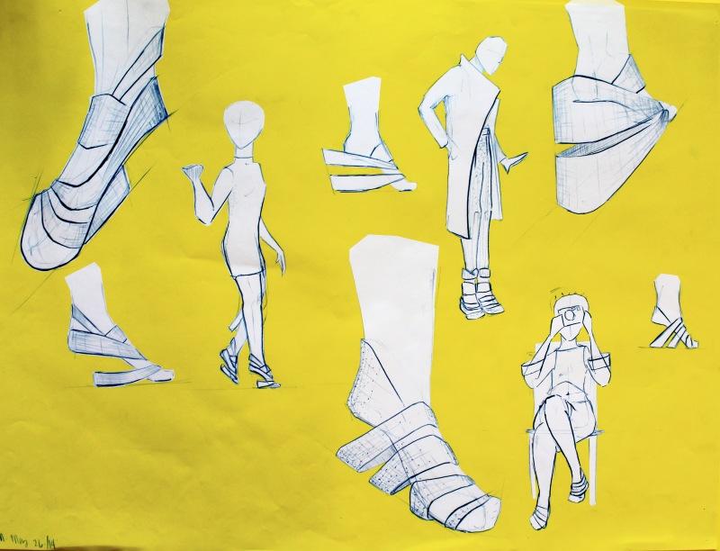 shoe charac