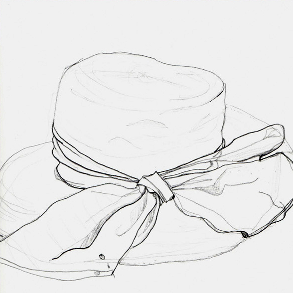 hat contour, graph on sketch, june 2012