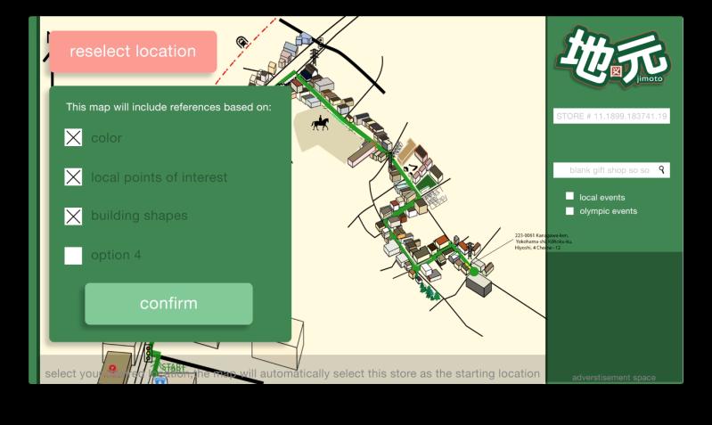 Jimoto map page